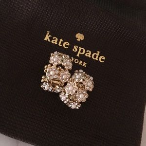Kate Spade Pearl & Crystal Flower Earring